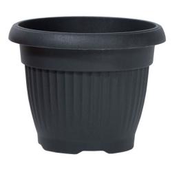"""Terra"" outdoor plant pot ø 20 cm - anthracite-grey"