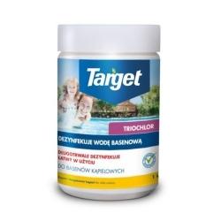 Chlor Trio - tab desinfektan air kolam renang - Target - 1 kg -