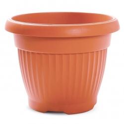 """Terra"" outdoor plant pot ø 25 cm - terracotta-coloured"
