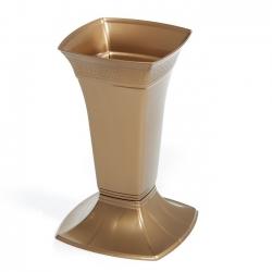 Цементная ваза маленькая - этна - золото -