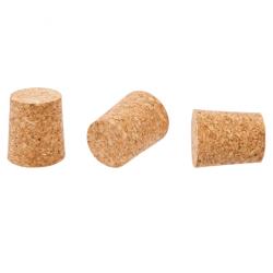 Természetes agglomerált kúpos parafa - 33/30 mm -