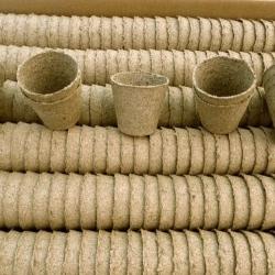 Macetas redondas de turba ø6 cm - 250 piezas -