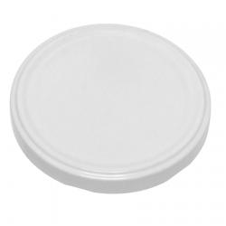 White jar lids - ø 66 mm - 10 pcs