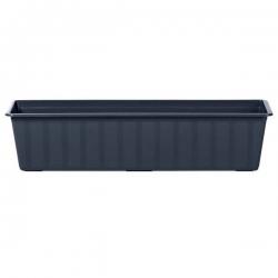 """Agro"" outdoor planter - anthracite-grey - 60 cm"