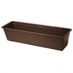 """Agro"" outdoor planter - brown - 60 cm"