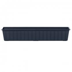 """Agro"" outdoor planter - anthracite-grey - 80 cm"