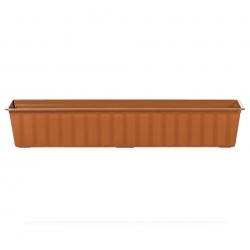 """Jardinera de exterior """"Agro"""" - terracota - 80 cm -"""