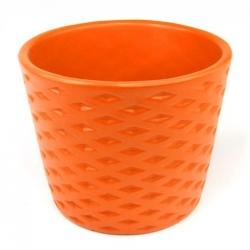Osłonka ceramiczna pomarańczowa 12 cm