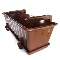 """Conjunto de balcón """"Agro"""" - marrón - 100 cm -"""