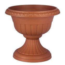 """Sadrokartón v tvare """"Rómov"""" - 30 cm - terakotovej farby -"""