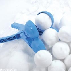 Topelt lumepallivalmistaja - Snowballee - sinine -