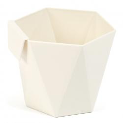 """Модуларно кућиште за посуђе """"Хеца"""" - 10,5 цм - кремасто бело -"""