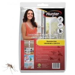 صفحه درب سیاه حشرات مغناطیسی - 160 220 220 سانتی متر - شکارچی -