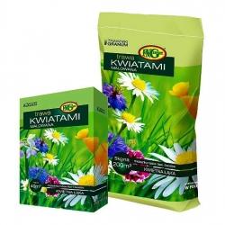 """""""Lillega maalitud"""" (Kwiatami Malowana) muru seemnevalik - 1 kg -"""
