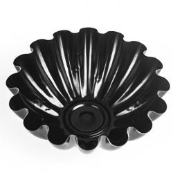 Melna nepiedegoša kēksiņu forma - ø 9,5 cm -