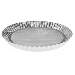 Round cake tin made of galvanized sheet metal - ø 27.5 cm - ideal for tarts and other cakes