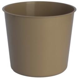 Kerek edénybetét - 20 cm-es edényekhez - bézs (cafe latte) -