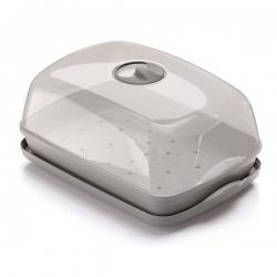 Polükarbonaadist kuplikattega minikasvuhoone, paljundaja - Respana Table Greenhouse Plus - kivihall -