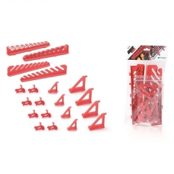 Sada vešiakov na náradie - Bineer Hooks - 20 kusov -