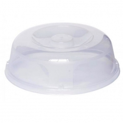 Plate lid for microwave ovens - transparent