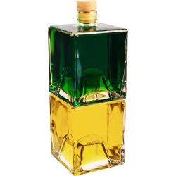 Botellas de licor, sirope, jugo - apilables - Bruno - 500 ml - 2 piezas -