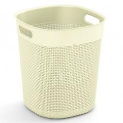 """Kerek kosár, """"Filo Bucket"""" tároló doboz - 16 liter - világos bézs -"""