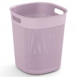 """Kerek kosár, """"Filo Bucket"""" tároló doboz - 16 liter - rózsaszín -"""