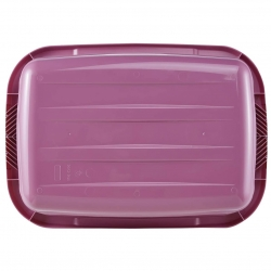 Laundry basket - Jost - 55 x 40 cm - berry