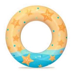 Plivački prsten, plutajući bazen - Morska zvijezda - 61 cm -
