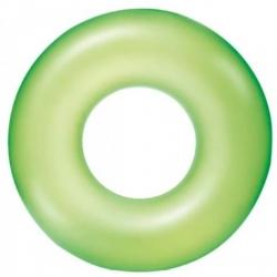 Ujumisrõngas, basseini ujuk - roheline - 91 cm -