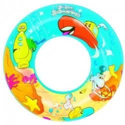 Plivački prsten, plovak za bazen - morska grafika - 56 cm -