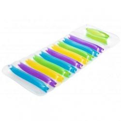 Felfújható úszómedence, matrac - többszínű - 185 x 69 cm -