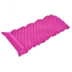 Felfújható medence úszó, matrac - rózsaszín - 218 x 88 cm -