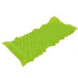 Täispuhutav basseini ujuk, madrats - roheline - 218 x 88 cm -