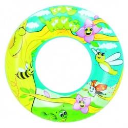 Prsten za plivanje, plovak za bazen - livadski uzorak - 56 cm -