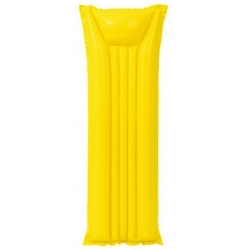Felfújható úszómedence, matrac - Sárga - 183 x 69 cm -