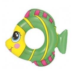 Prsten za plivanje, plovak za bazen - riba - zelena - 81 x 76 cm -