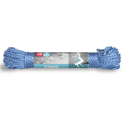 Woven 3 mm clothesline - 20 m