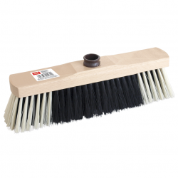 Wooden household broom