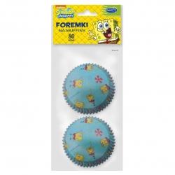 Muffin moulds SpongeBob SquarePants - 80 pcs