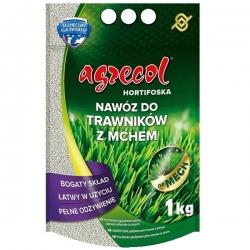 Hortiphoska para césped infestado de musgo - un fertilizante eficiente y fácil de usar - Agrecol® - 1 kg -