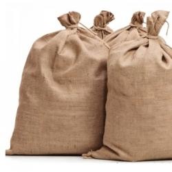 Természetes juta táska - 65 x 135 cm -