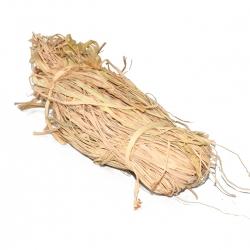 Zsineg Raffia - kiválóan alkalmas dekorációkhoz - természetes - 50 g; vonal -