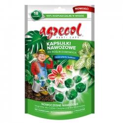 Mēslojuma kapsulas mājas augiem - ērtas un efektīvas - Agrecol - 18 gab -