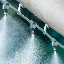 Āra miglas komplekts, ūdens aizkars - pilns komplekts pašmontāžai - 7,5 m - CELLFAST -