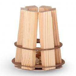 EKO-tábortűz - könnyű és kényelmes módon gyújtsa meg a tábortüzet, a kandallót, a grillezőt vagy fűtsön egy holland sütőt - 50 db -