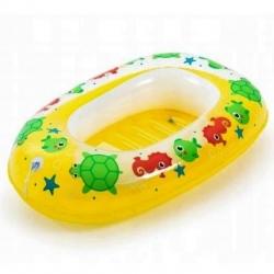 Täispuhutav pontoon lastele - kollane - 102 x 69 -
