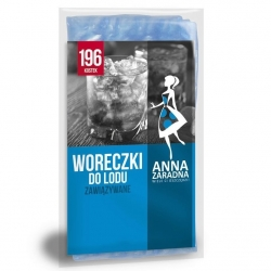 Disposable ice cube bags - for 196 cubes