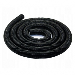 Colector de agua de lluvia / tubo recolector / manguera para depósitos de agua de lluvia - negro - 50 cm -