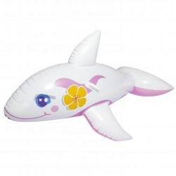Inflatable pool float - White orca - 157 x 94 cm